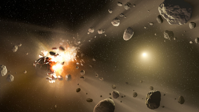 Ancient asteroid collision boosts biodiversity on Earth: study