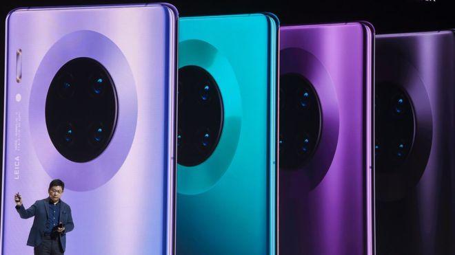 Mate 30 de Huawei  : cómo es el primer teléfono del gigante chino sin apps de Google