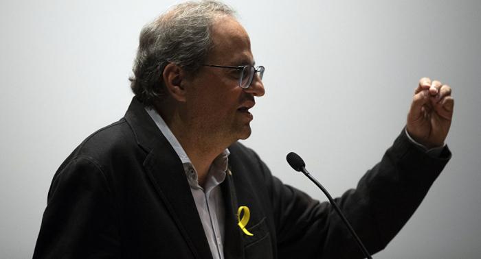 El Tribunal Superior de Justicia de Cataluña aplaza el juicio al presidente de la Generalitat