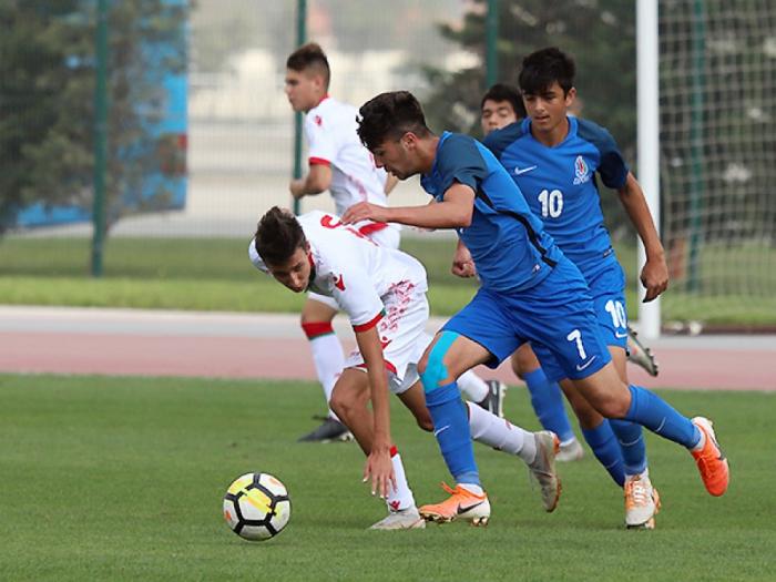 U-17 millimiz Belarusa məğlub oldu