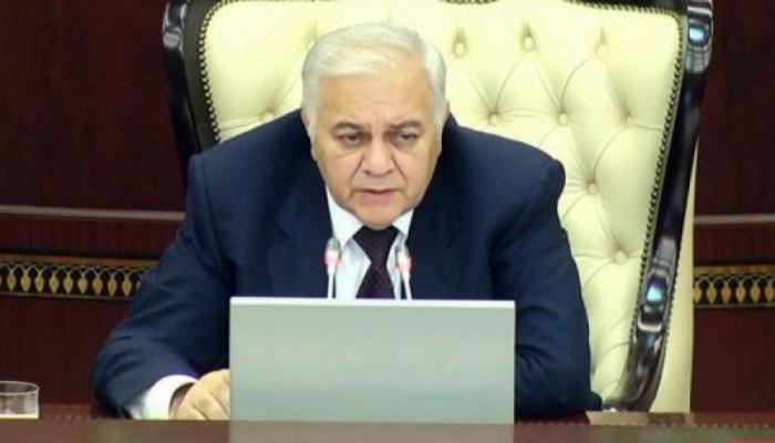 Le président du Milli Medjlis participera à la 4e Conférence des présidents de parlement des pays eurasiatiques