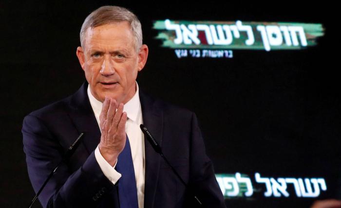 El exgeneral Gantz abre la senda de la derrota electoral de Netanyahu
