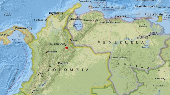 Colombia  : Se registra un sismo de magnitud 5,2 sentido en varias partes del país