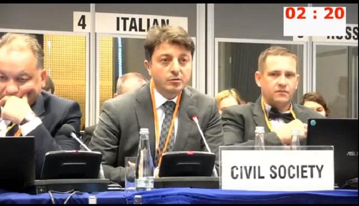 Azerbaijani representative appeals to OSCE -  VIDEO