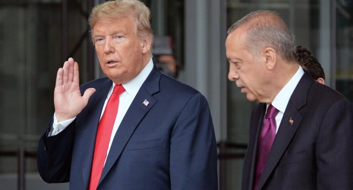 Erdogan telefoniert mit Trump