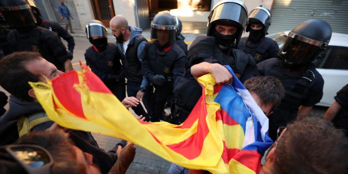 Polizei nimmt neun Separatisten in Katalonien fest
