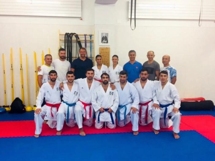 Azərbaycan karateçiləri Moskvaya yollandı