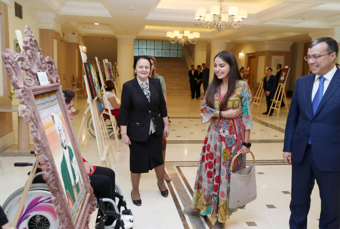 """Leyla Aliyeva attends opening of """"Nasimi Manuscripts in World Libraries"""" exhibition (PHOTO)"""