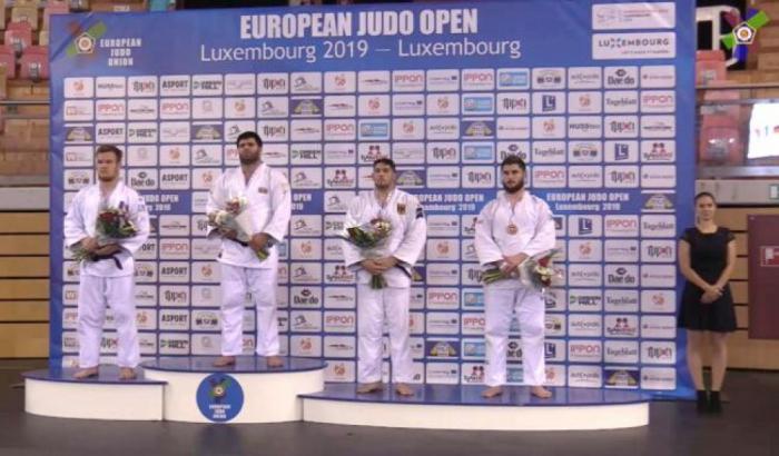 Les judokas azerbaïdjanais ont remporté quatre médailles à Luxembourg