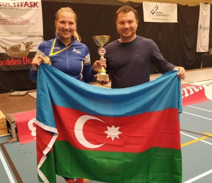 Azerbaijani female fencer clinches gold at international tournament