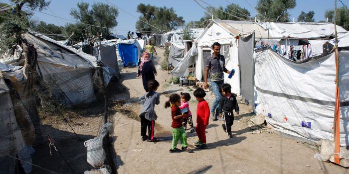 Grèce: situation «tragique» dans le camp de réfugiés de Moria, selon le HCR