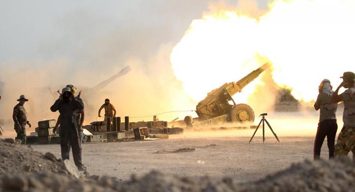 الحشد الشعبي العراقي يتصدى بالمضادات الأرضية لطائرات مسيرة مجهولة
