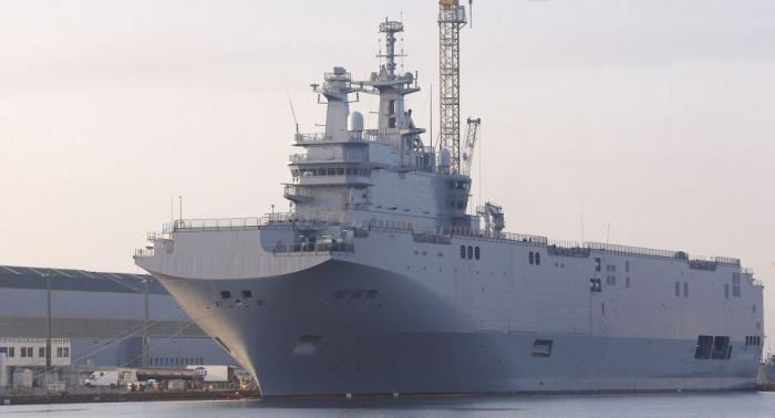 رئيس الشركة الروسية لصناعة السفن: لا اتفاق بشأن بناء حاملات مروحيات عسكرية
