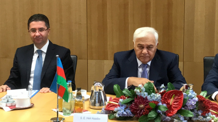 Azerbaijani parliament speaker visits Germany