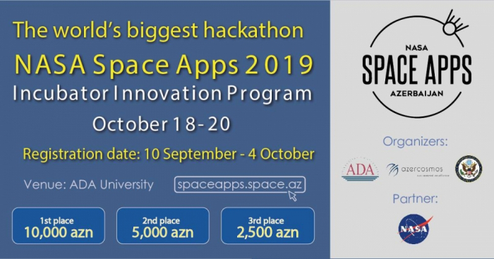 Azerbaijan to host NASA Space Apps Challenge for first time