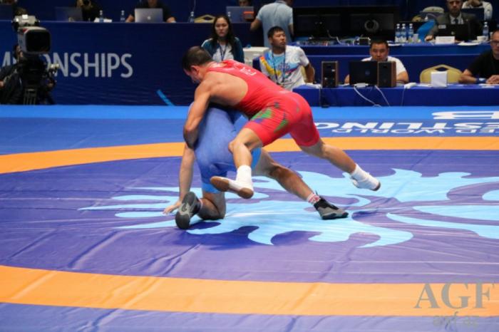 Azerbaijani Greco-Roman wrestlers win two medals at World Championships