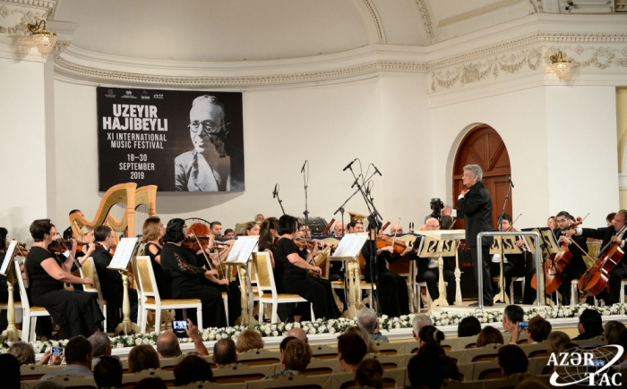 Baku hosts solemn opening of Uzeyir Hajibeyli International Music Festival