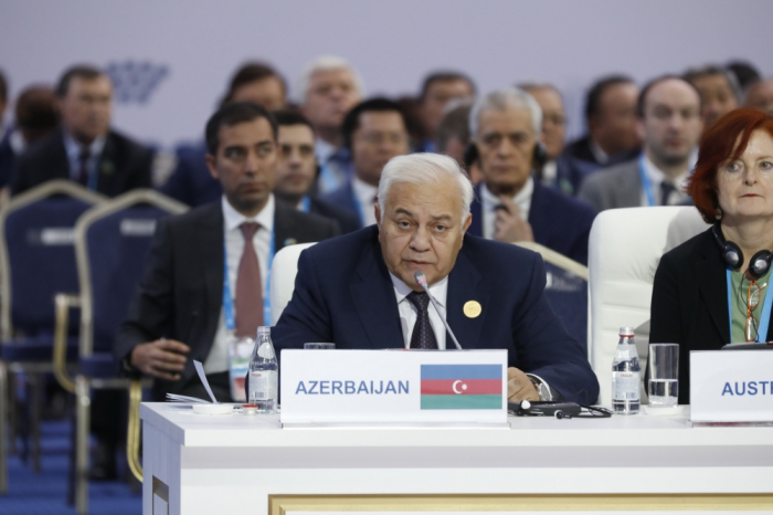 Azerbaijani parliament speaker attends 4th meeting of speakers of Eurasian countries' parliaments