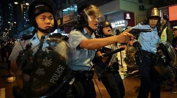 القبض على 157 متظاهراً في هونغ كونغ