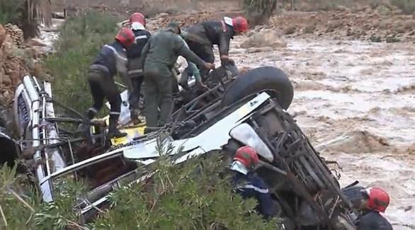 ارتفاع حصيلة ضحايا السيول في المغرب إلى 17 قتيلاً