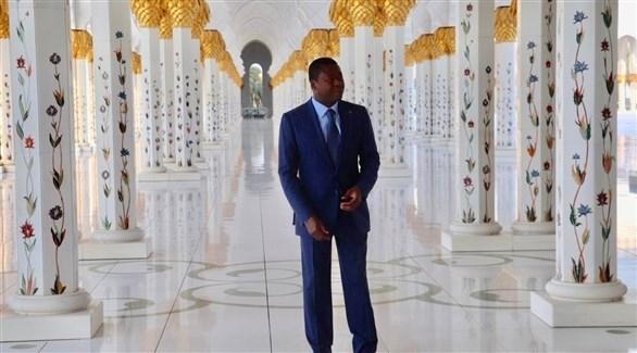 رئيس توغو يزور جامع الشيخ زايد الكبير في أبوظبي