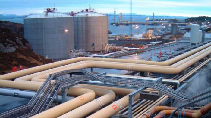 Oil tanker bursts into flames at Sture oil terminal in Norway