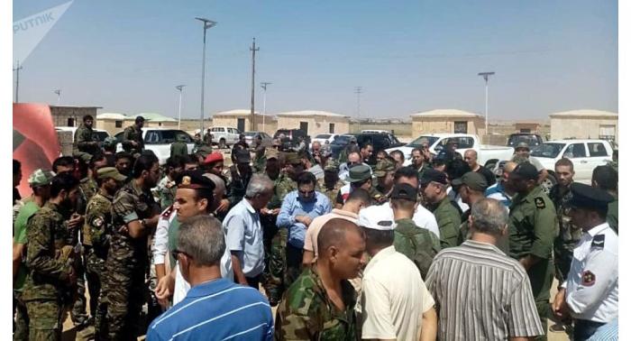 اتفاق على مرور 800 شاحنة من سوريا إلى العراق