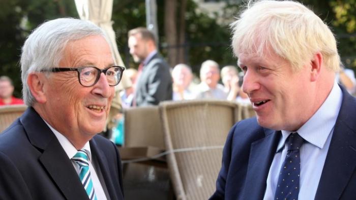 Johnson trifft Juncker