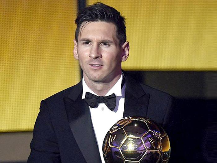 Messi ilin ən yaxşı futbolçusu seçildi