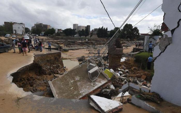 Inondations en Tunisie, un mort