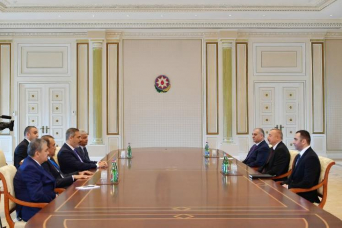 President Ilham Aliyev receives leaders of special services of Turkic-speaking states