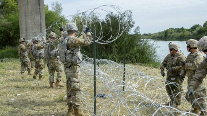 Militäreinsatz an Grenze zu Mexiko um ein Jahr verlängert