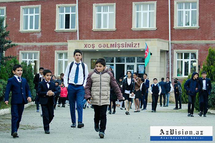 Azərbaycanda şagirdlərin sayı açıqlandı - Statistika