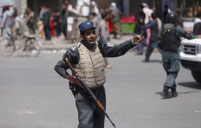 Əfqanıstanda prezidentin olduğu mitinqdə partlayış: 24 ölü, 31 yaralı