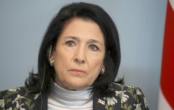 Gürcüstanda prezidentə cinayət işi açıldı