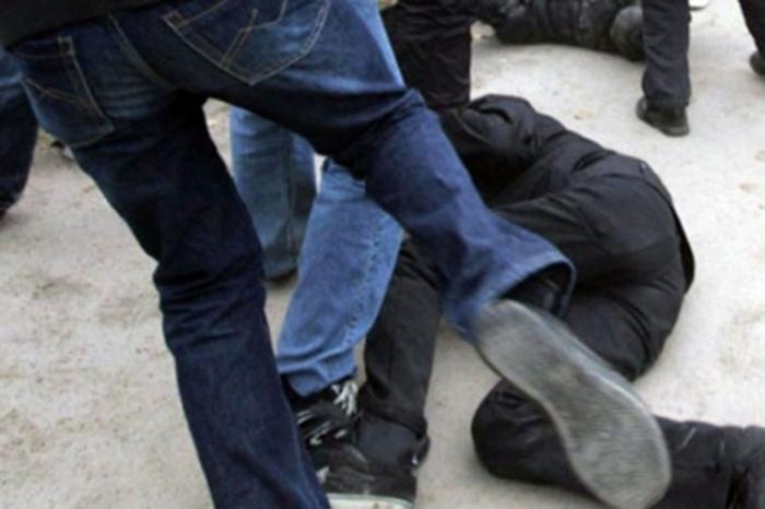 Azərbaycanlılarla ermənilər arasında kütləvi dava - VİDEO