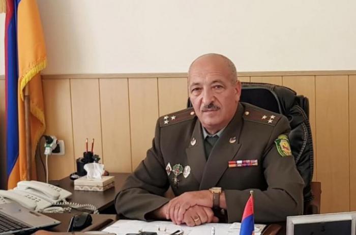 Ermənistanda polkovnik həbs olundu