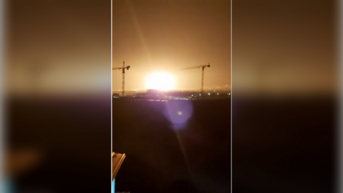 VIDEO:   Varios heridos en una serie de explosiones en un almacén de municiones en Chipre