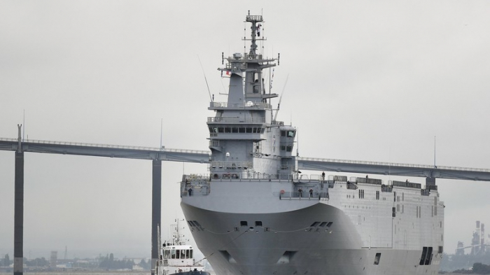 Russland baut nach geplatztem Deal mit Frankreich seine Schiffe der Mistral-Klasse selbst