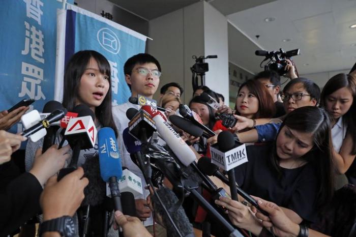 Hongkong: Pékin fustige la rencontre entre Joshua Wong et la diplomatie allemande