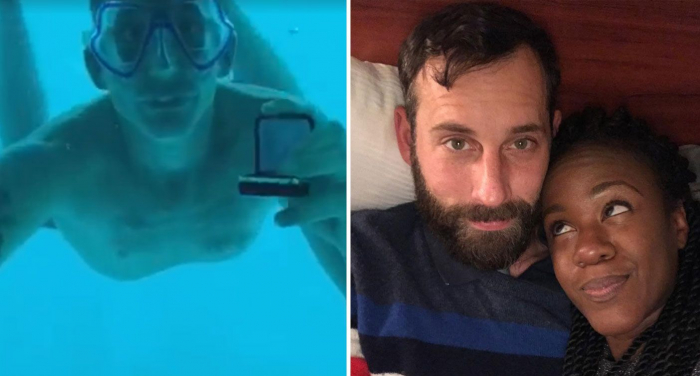 Man dies delivering underwater proposal, Louisiana woman says