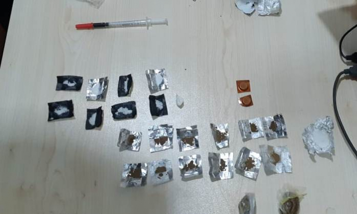 Qusarda narkotik alverçisi tutuldu - FOTOLAR