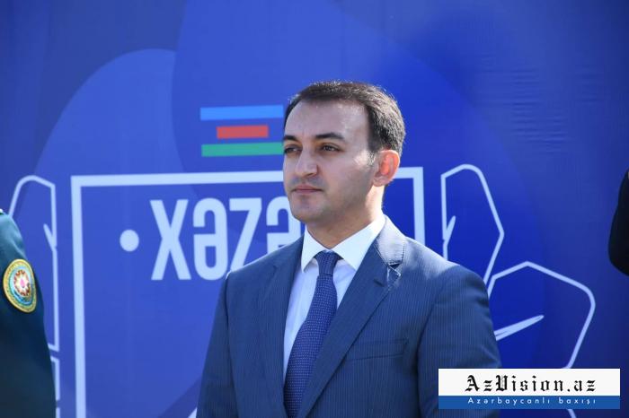 """Ülvi Mehdiyev: """"Vətən sərhəddən başlayır"""""""