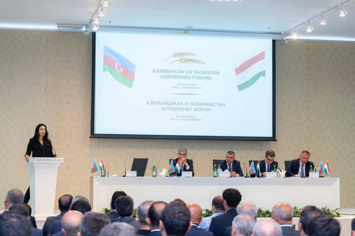 Azərbaycan-Tacikistan Aqrobiznes Forumu keçirilib - Fotolar