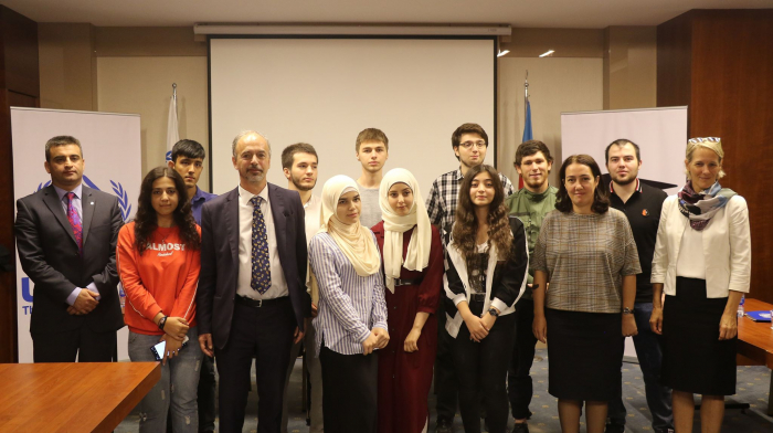 UNHCR supports refugee students to acquire tertiary education in Azerbaijan with German funds