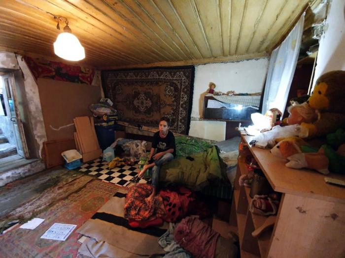Küçələrdə qalan azyaşlı uşaq evinə yerləşdirildi