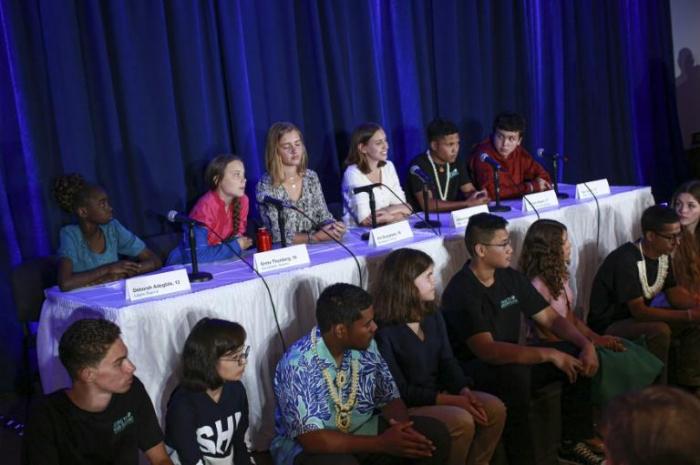 Greta Thunberg et 15 jeunes intentent une action juridique contre 5 pays
