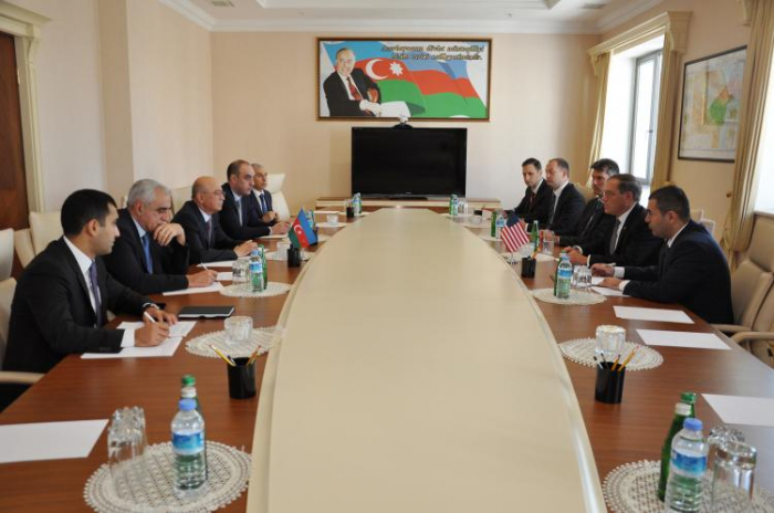 Minister of Emergency Situations meets US Ambassador to Azerbaijan