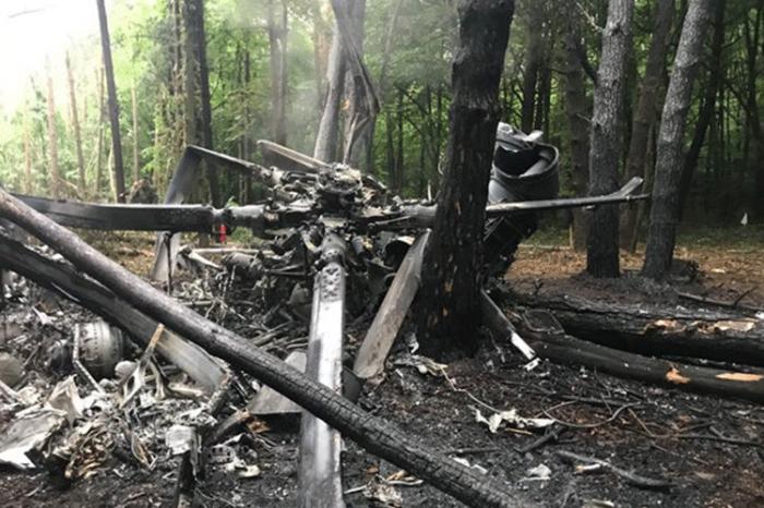 Helikopter qəzasında 6 nəfər ölüb-