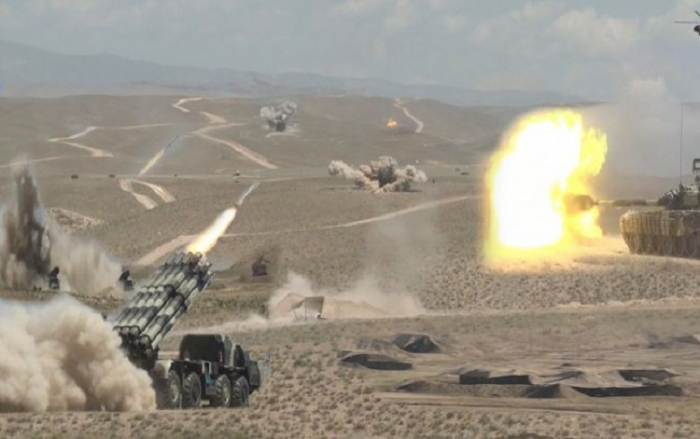Nächstes Training für die Truppen der Nachitschewan-Garnison beginnt